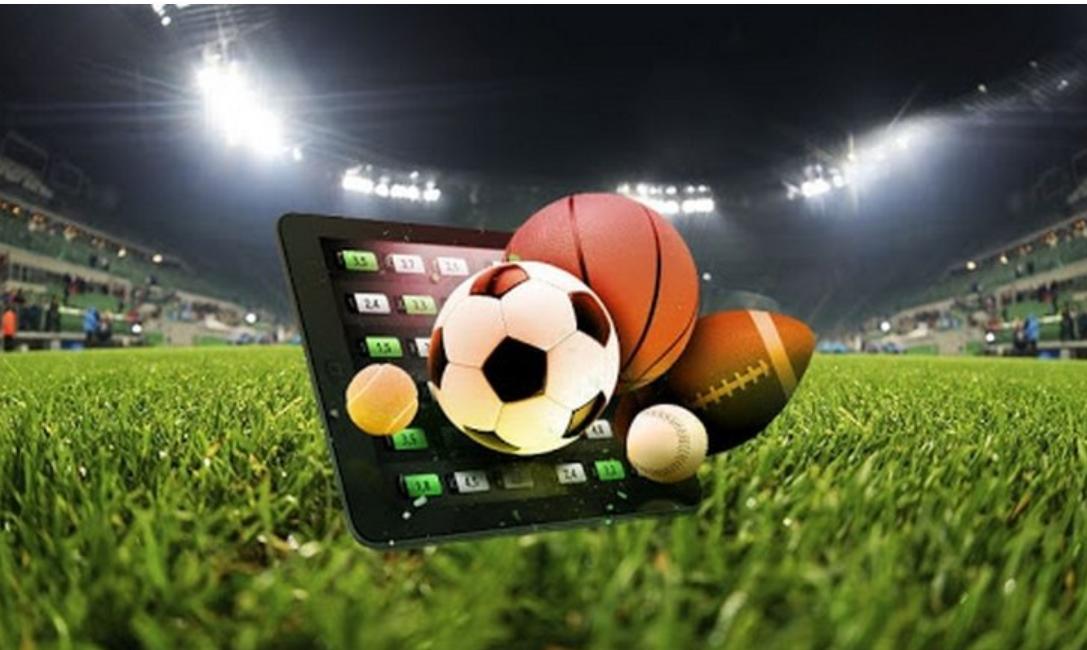 tablet, sports betting, balls